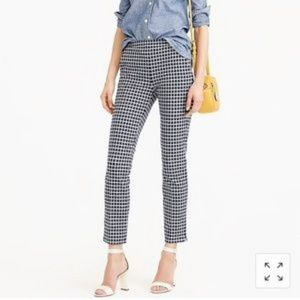 J crew Martie Windowpane Pants